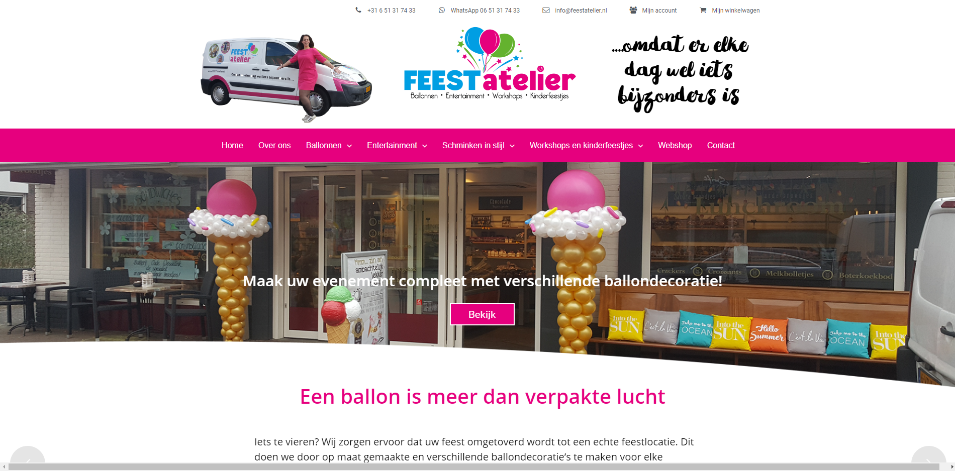 showcase-feestatelier